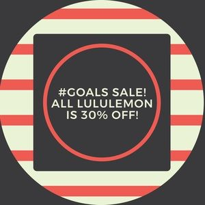 Lululemon is 30% off! Make an Offer & I'll Accept!